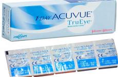 Контактні лінзи 1 Day Acuvue TrueEye